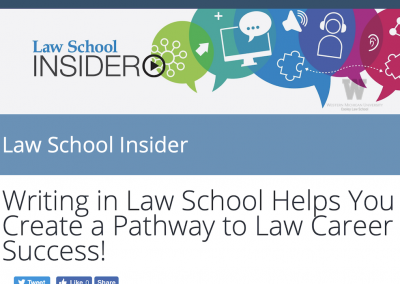 Chew and Pryal: Law School Insider Podcast on Writing in Law School